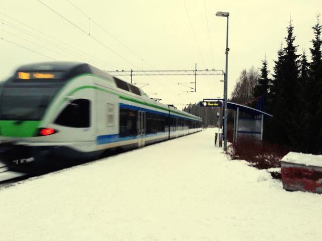 Public Transportation , My Journey In Helsinki .