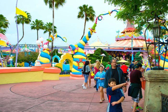 Injoying Life USA Orlando Florida Universal Park Colorful Fun!