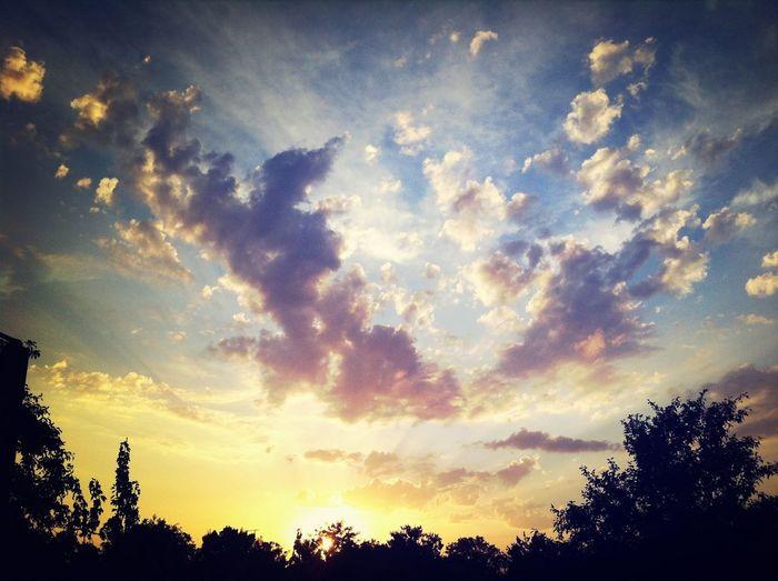 Beautiful Sky Beautiful Sunset Relaxing люблюзакат