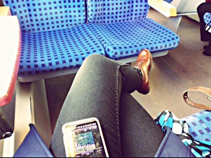 My Commute Deutsche Bahn Sbahn Ubahn Underground Bytrain Train Mobile Conversations