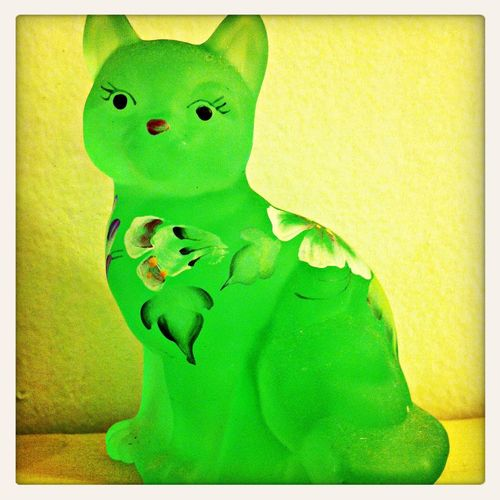 Boost Filter Fenton Glass Collection  Catoftheday Catlover