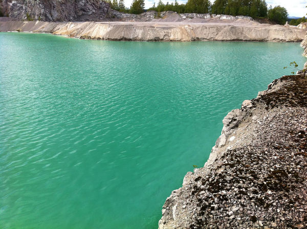 Limestone quarry in sweden, Vikarby. Sweden Travel Traveling Beauty In Nature Day Green Water Lake Limestone Limestone Mining Nature No People Outdoors Picoftheday Pictureoftheday Rock - Object Scenics Sky Tranquil Scene Tranquility Tree Vikarby Water first eyeem photo EyeEmNewHere