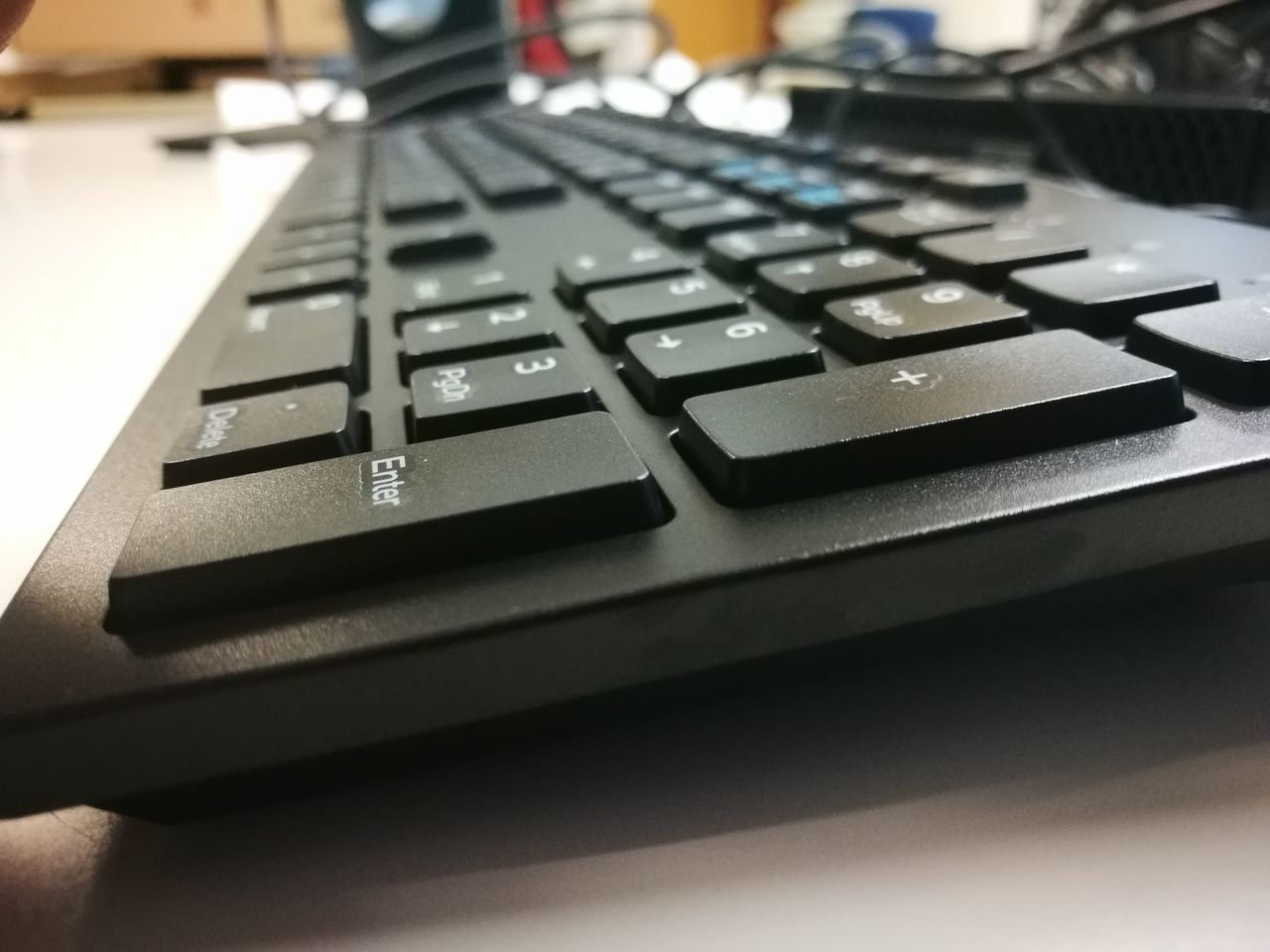 computer keyboard, technology, close-up, indoors, connection, computer key, table, text, no people, communication, computer, keyboard, wireless technology, day