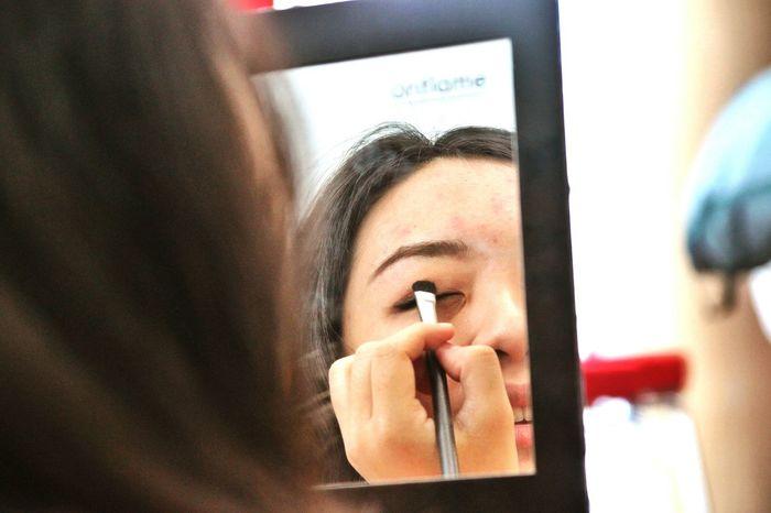 Candid Makeup Makeup Time Portrait Of A Girl