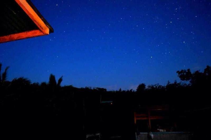 Watching The Stars On My Balcony