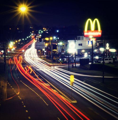 Light Trails Night Photography Night Night Life A6000