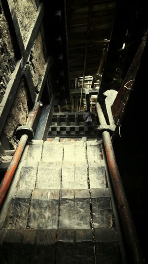 Ancient Building Bhutanese Architecture Stairways