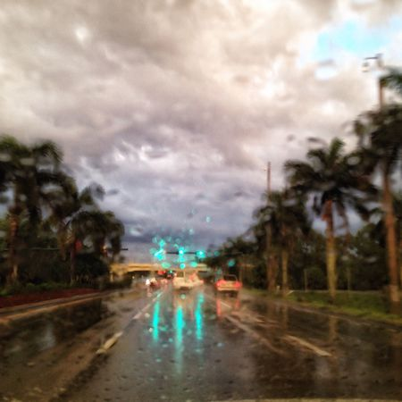 Transportation Rain Wet Car Road Weather Mode Of Transport Land Vehicle Season  Water Illuminated Window Transparent Travel Drop Vehicle Interior Glass - Material Dusk Cloud - Sky RainDrop