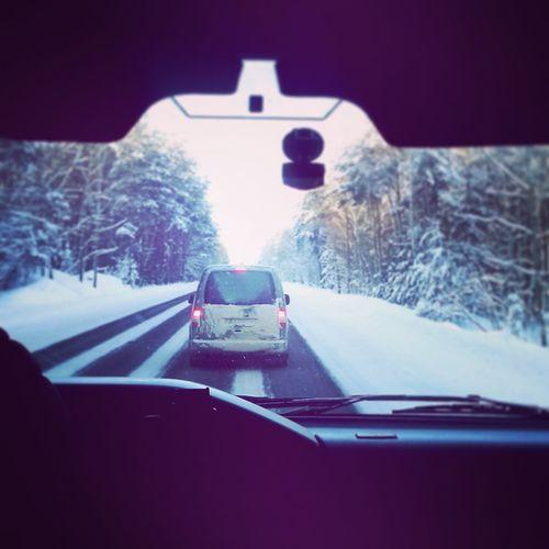 снег Driving Snow Winter Дорога Могилев