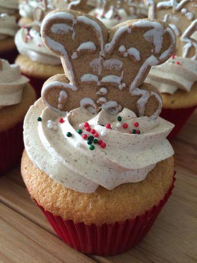 Baking Cupcakes Christmas Cupcakes Cinnamon Cupcakes Gingerbread Merry Xmas! Xmas Decorations Yummy Cupcakes