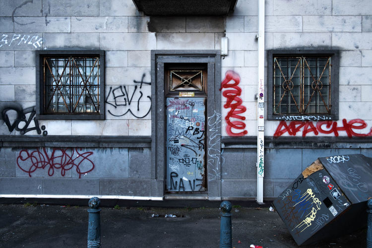 Building Exterior Graffiti No People City Capital Letter Creativity Streetphotography Urban Art And Craft Wall Text