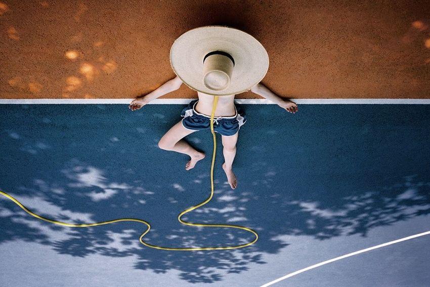 Sophie Bogdan 35mm 35mm Film Blue Colorful Colors Film Filmisnotdead Fine Art Photography Orange Shadow Shadows & Lights Yellow Color Palette The Street Photographer - 2017 EyeEm Awards