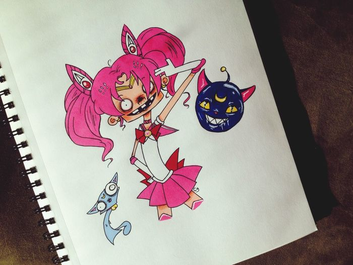 You can also find me on Twitter at www.twitter.com/Frankendweeb or on Tumblr at www.frankendweebisme.tumblr.com. Thanks! Art Sailormoon Fanart Cartoon Doodle Anime Cute Creepy Drawing Sketch