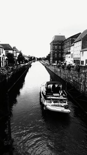Saverne, France Alsace France Waterways Boat Canals And Waterways