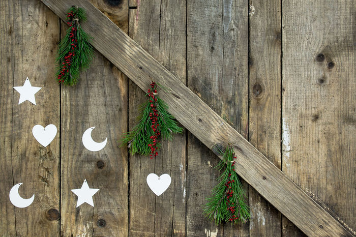 Christmas Christmas Decorations Christmas Eve Merry Christmas Natural Wood Nature Old Boards Raw Wood Scandinavian Style Star Star Tree Tree Ornaments Vintage Wooden Background Wooden Christmas Decorations Wooden Christmas Ornaments