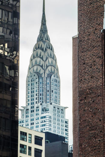 Architecture Chrysler Building NYC New York Architecture Building Building Exterior Buildings Chryslerbuilding City Closeup Low Angle View Outdoors Skyscraper Travel Destinations