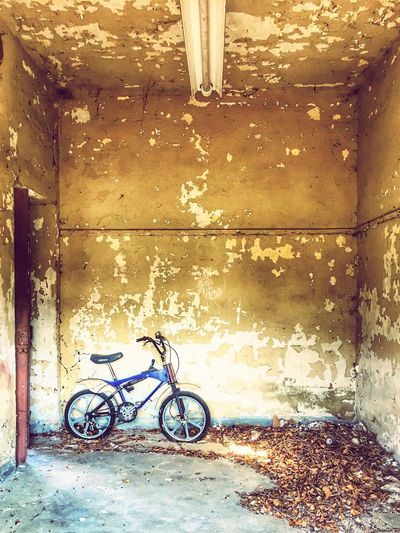 Old Bicycle Abandoned Bicycle Transportation Land Vehicle Mode Of Transportation Architecture Stationary Built Structure