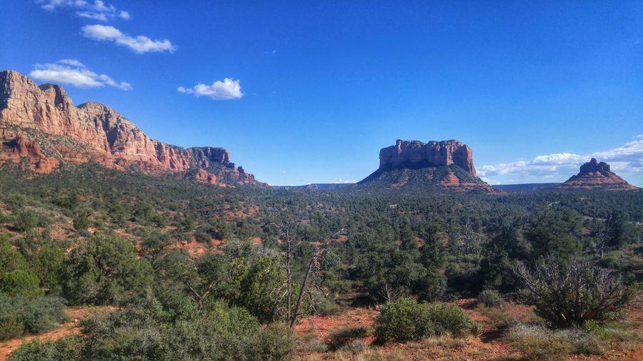 We went Hiking Sedona Bell Rock Pathway Bell Rock Arizona