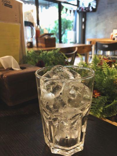 Glass Drinking