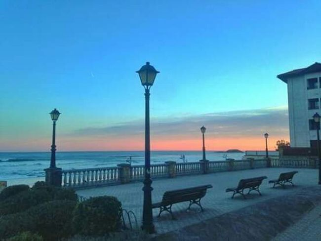 Reaches the end of the day. The days get shorter. Final Beautiful Day Basque Coast Summer Sony Xperia P Reflexions