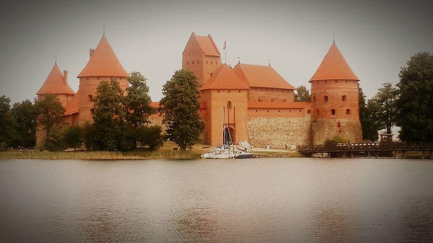 Trakai Island Castle Trakai Castle Kaunas City Castle Litvanya 2015  Tourist Attraction  Tourist Destination Fairytales & Dreams