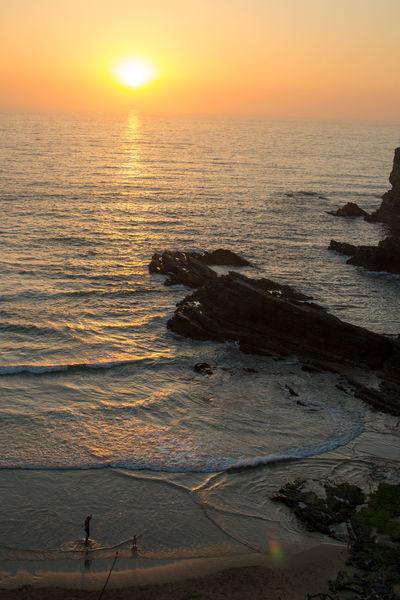 First Eyeem Photo Zambujeira Do Mar Beach Sunset Happiness Family Father & Son