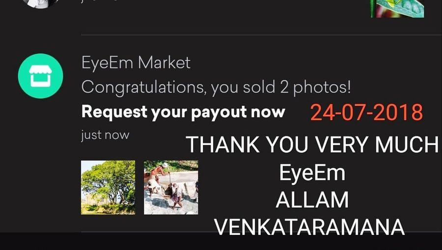 Thank You Very Much EyeEm!