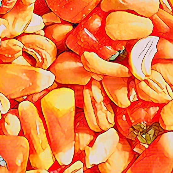 Maximum Closeness Candy Corn Orange Color Backgrounds Full Frame No People Close-up Food Day