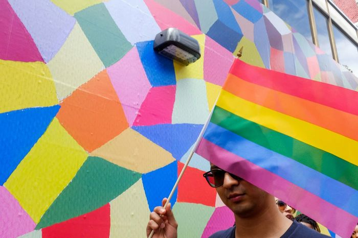 Street Photography Streetphotography Pride Gay Pride Prideparade Rainbowflag The Street Photographer - 2015 EyeEm Awards The Moment - 2015 EyeEm Awards The Photojournalist - 2015 EyeEm Awards Better Look Twice