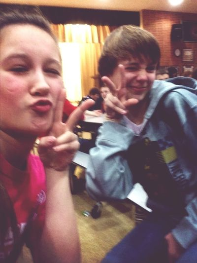 Duck Face And Peace Sign, Yah Know