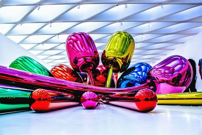 The broad No People Close-up Multi Colored Flower Tulips JeffkoonsInstacool CaliLife California Photography Thebroad Thebroadmuseum Losangeles Art Yaaas Iloveart Day