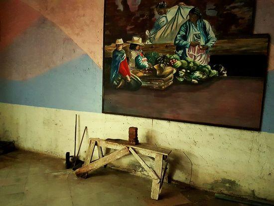 No People Indoors  Day Close-up Architecture pintura Tulancingo Olvidado Arte Viejos Tiempos