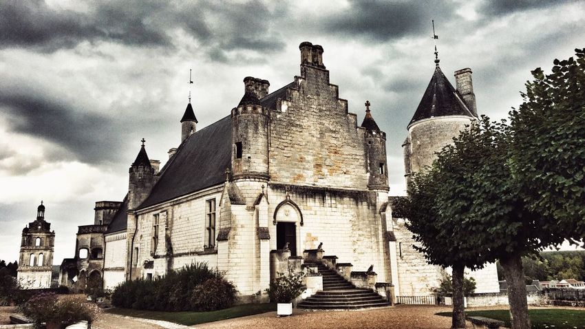 Loches Indreetloire Château France Castle Medieval Chateauroux