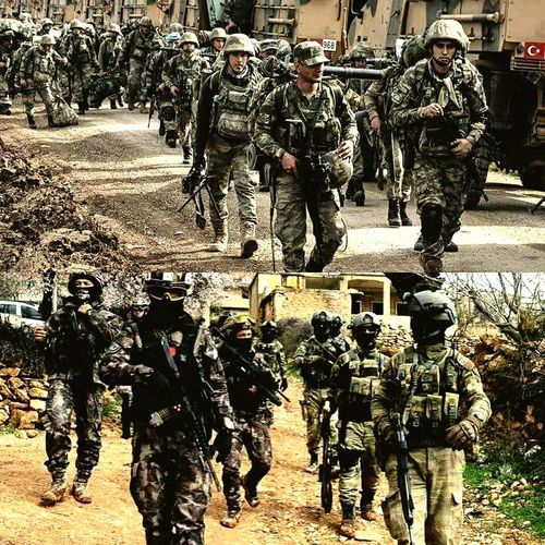BARIŞ'A YÜRÜYEN ASLAN PARÇALARI Afrinoperasyonu Afrin Tsk Bayrak Türkiye TBT  Military Uniform Military