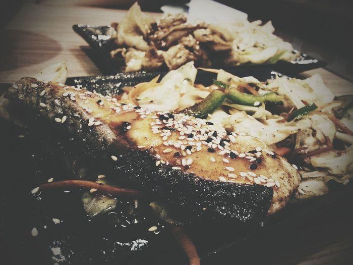 Teriyaki Salmon Japanese Food Penang