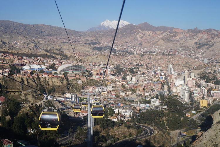 Bolivia La Paz, Bolivia Teleferico Teleferico De La Paz Americalatina Illimani Plaza De Armas Viajeabolivia