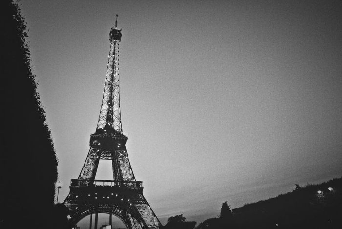 La Tour Effel Eiffel Tower Paris Travel Photography