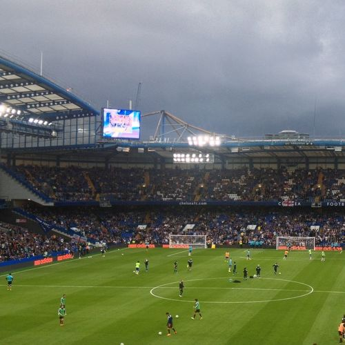 Dark Skies Before The Game Chelsea Football