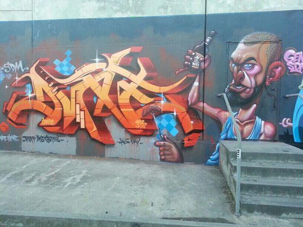 Graffiti Streetart Gent DVATE Aerosol Dv8 48 Forty8 Sdmcrew