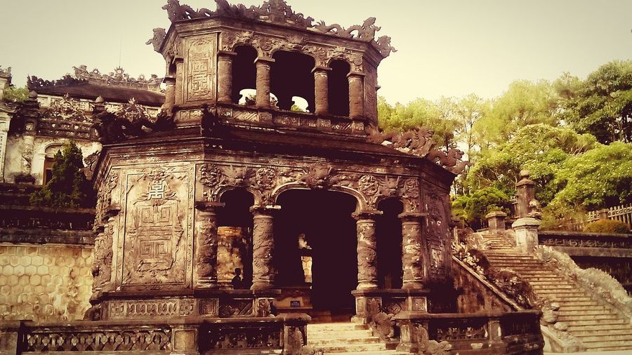 Emperor KhaiDinh Mausoleum The 12th Emperor Of The Nguyen Dynasty#in #Vietnam #Hue #Vietnam