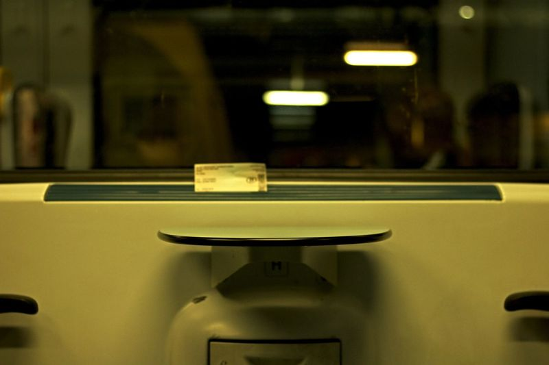 Empty Late Night Late Train Lonely Night NMBS No People Selective Focus Train
