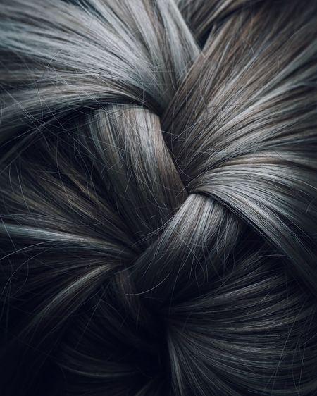 Full frame shot of hair