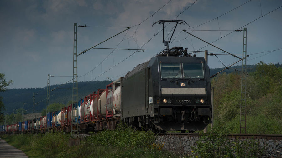 Container Eisenbahn Freight Train Güterverkehr Railway