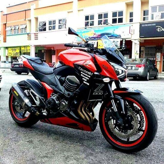 KAWASAKI Z800 Kawasaki Z800 Bike Ride Malaysia EyeEm