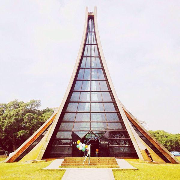 百看不厭,貝聿銘的經典之作~ Luce Memorial Chapel Church Tunghai University Hello World Photography Cool Beautiful Taiwan Travel The View And The Spirit Of Taiwan 台灣景 台灣情