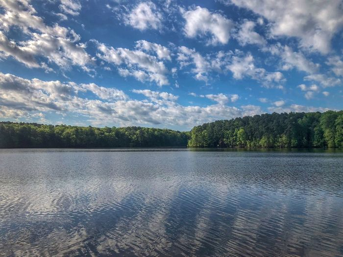 Views over the lake Sky Cloud - Sky Water Scenics - Nature Tranquility Tranquil Scene Plant Non-urban Scene Lake No People Nature Beauty In Nature Tree Reflection Outdoors Environment Landscape Idyllic Day Lagoon