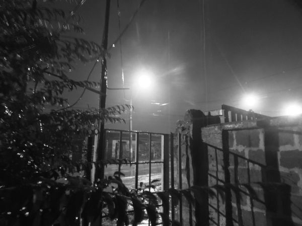 noche de lluvia 2 Barroco Austral Blackandwhite Photography City Life Illuminated Lighting Equipment Night Rain Viña Del Mar