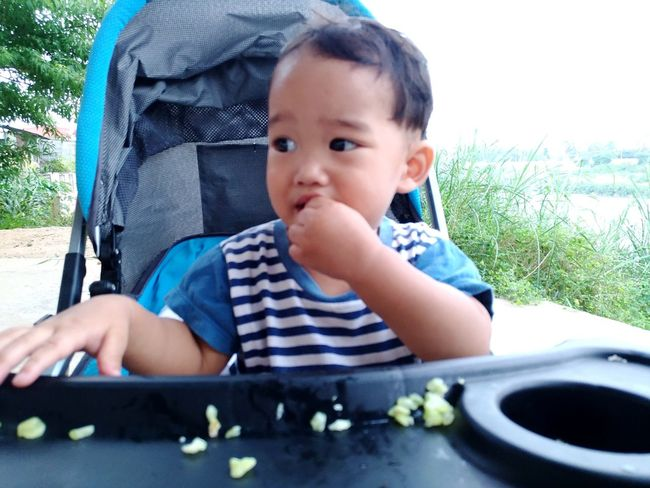cute baby EyeEm Selects Baby Babies Only One Person Babyhood Childhood Portrait Day Looking At Camera Cute Sitting Adult Close-up Outdoors Sky