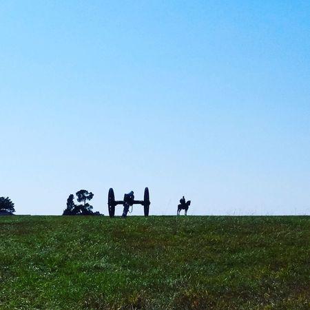 Manassas National Battlefield Park Stonewall Jackson Civil War History Canon Civil War Beauty In Nature Close-up Nature Outdoors Military
