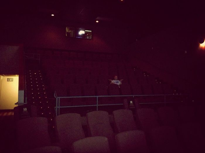 Date night, and I have reserved the entire theater for us!!